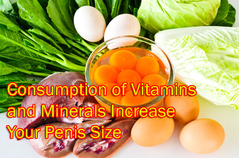 Additional Consumption of Vitamins and Minerals Increase Your Penis Size