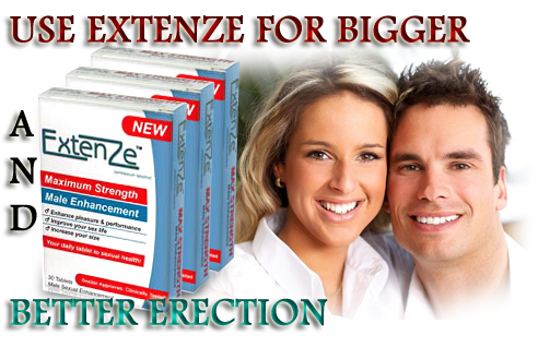 How to Use Extenze for Bigger and Better Erection