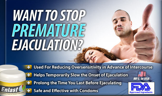 Enlast Cream- Best Natural Remedy to Cure Premature Ejaculation!