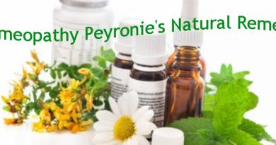 Homeopathy Peyronie's Natural Remedy