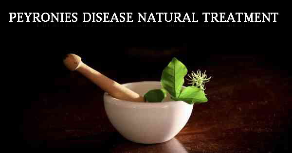 peyronies disease natural treatment