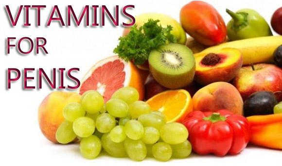vitamins for penis