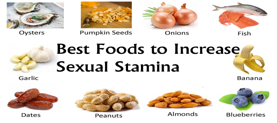 Foods for male sexual performance