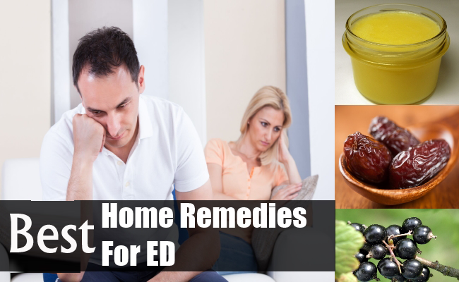 7 Best Home Remedies to Treat Erectile Dysfunction