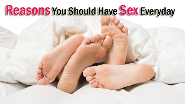 17 Reasons You Should Have Sex Everyday