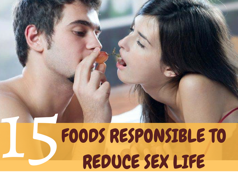 [infographic]-foods that reduce sex life