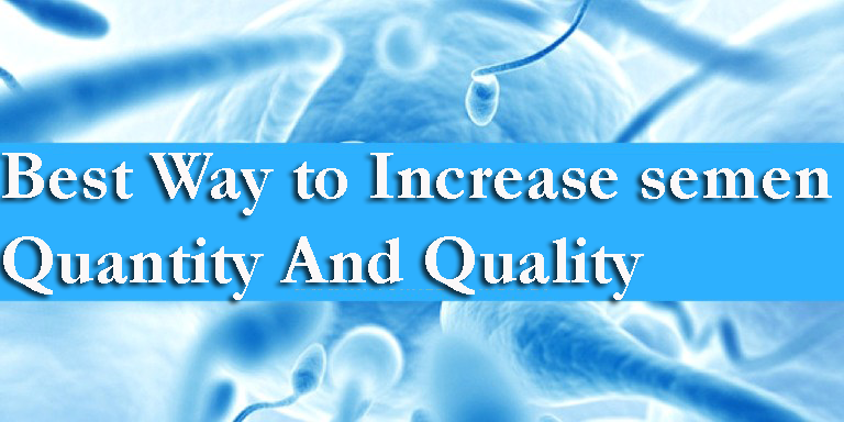 Increase semen Quantity and Quality