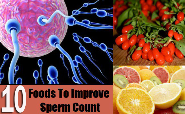 10 Foods to Improve Sperm Count and Quality