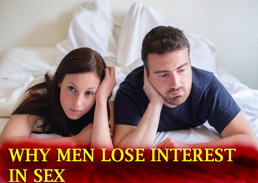man losses interest in sex