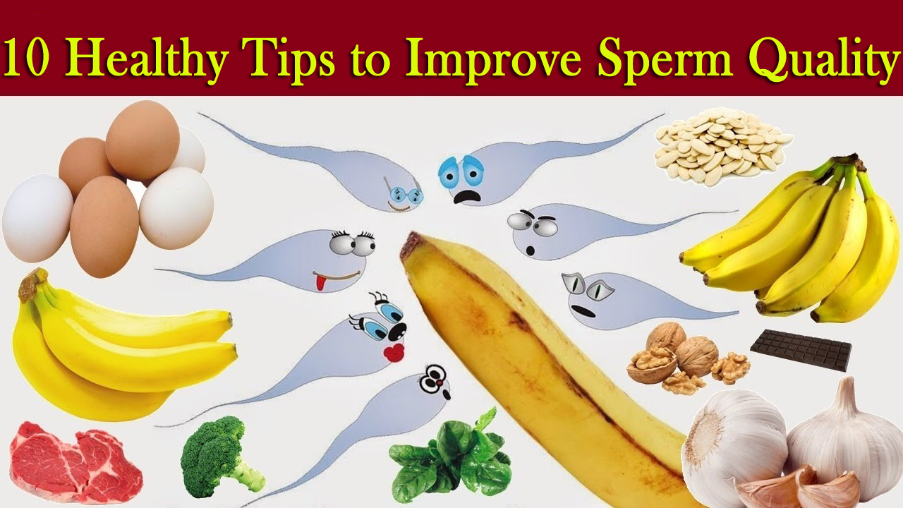 10 Healthy Tips to Improve Sperm Quality