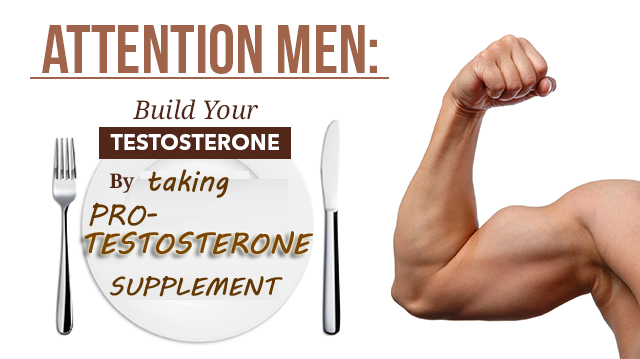 Pro Testosterone supplement for increasing muscle building