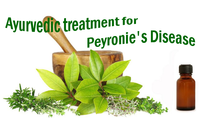 Ayurveda Herbal Treatment for Peyronie's disease
