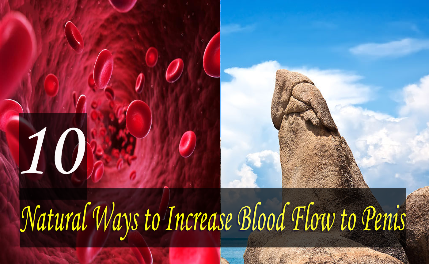 10 Best Natural Ways to Increase Blood Flow to Penis For Improved Penis Strength & Erection