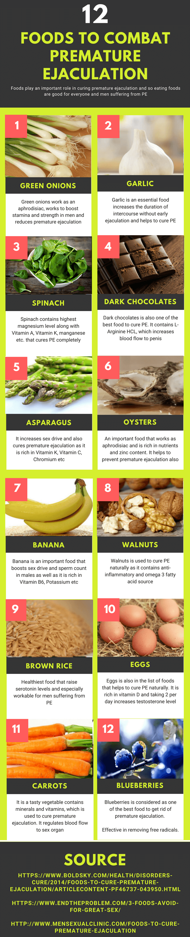 foods to cure pe