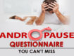 Andropause/Male Menopause Questionnaire